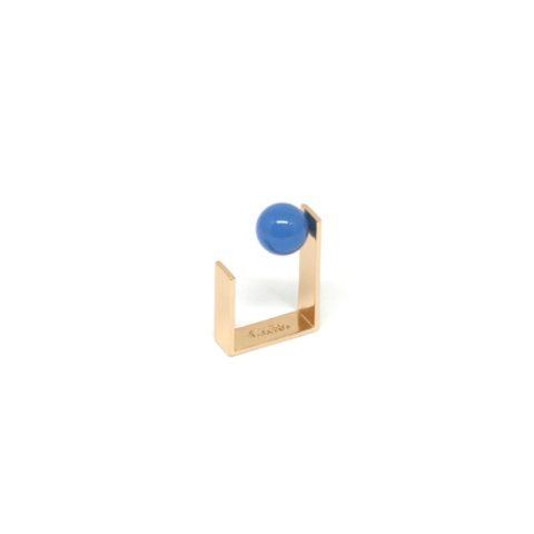 Anello Oro Agata Blu_ArchiMode