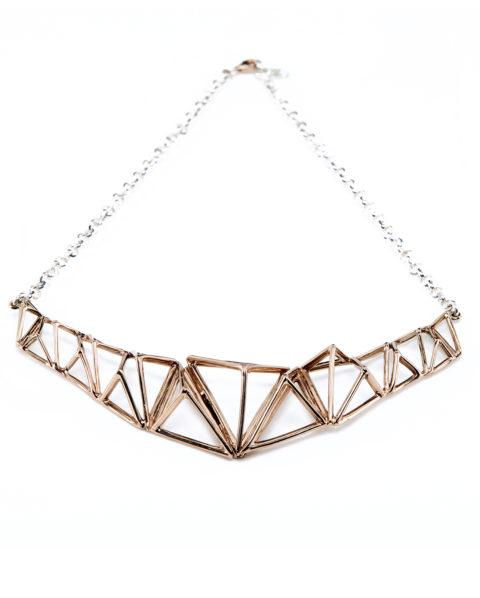 Collana Oro Piramidi_ArchiMode