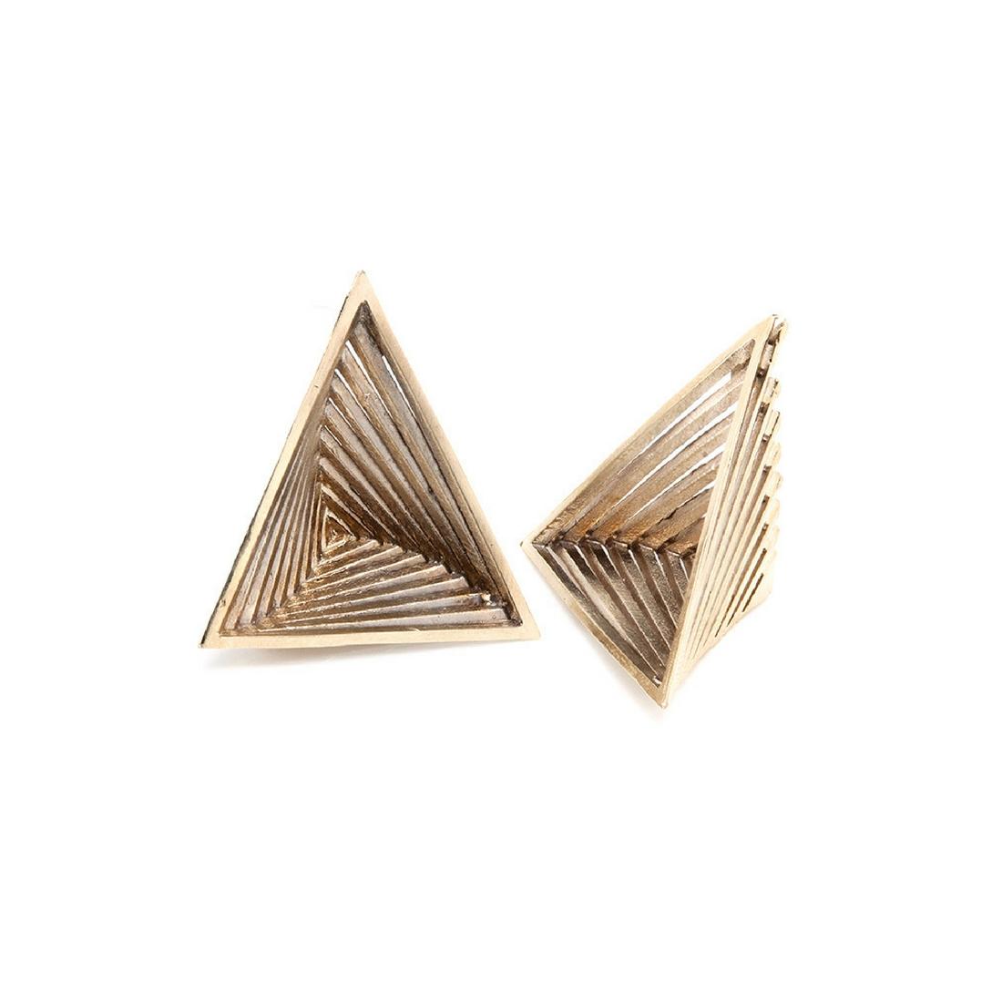 Orecchini Vortex Piramidi_ArchiMode