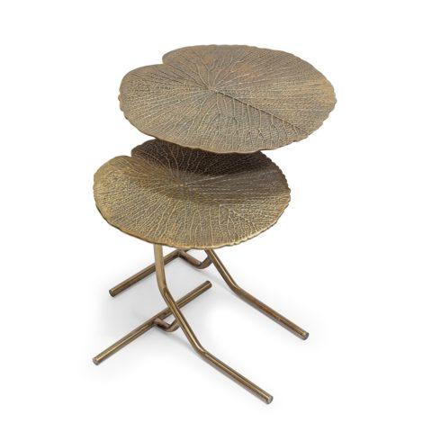 Tavolino Foglia Bronzo_ArchiMode