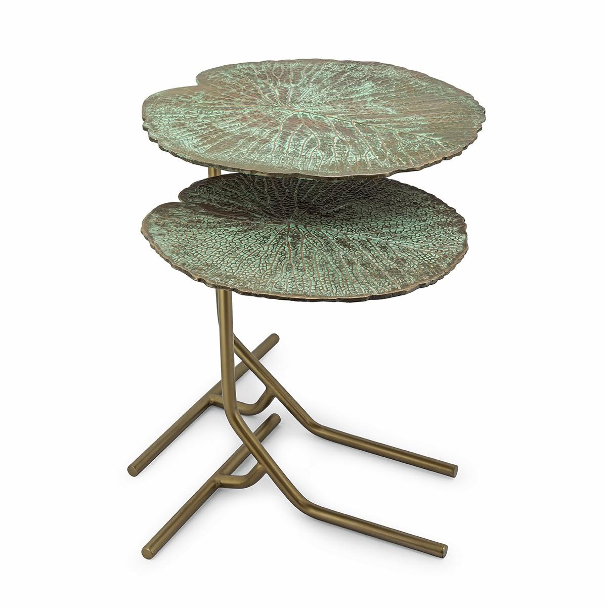 Tavolino Foglia Verde_ArchiMode