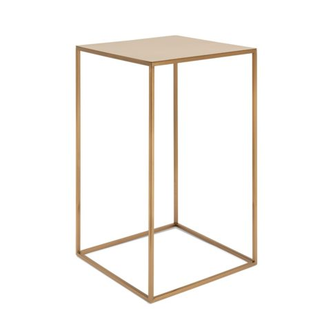 Tavolino Quadrato Oro Rosa1_ArchiMode