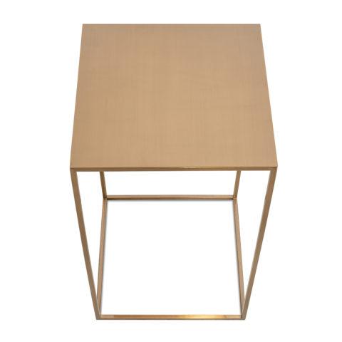 Tavolino Quadrato Oro Rosa3_ArchiMode